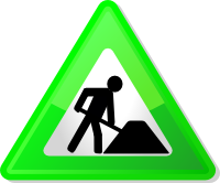 Under construction icon-green
