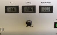 Temperaturregelung